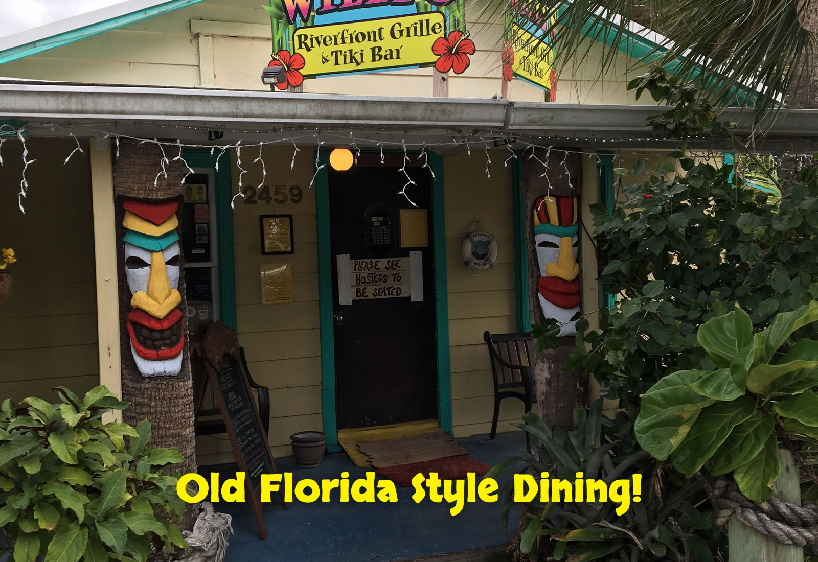 Old Florida style dining