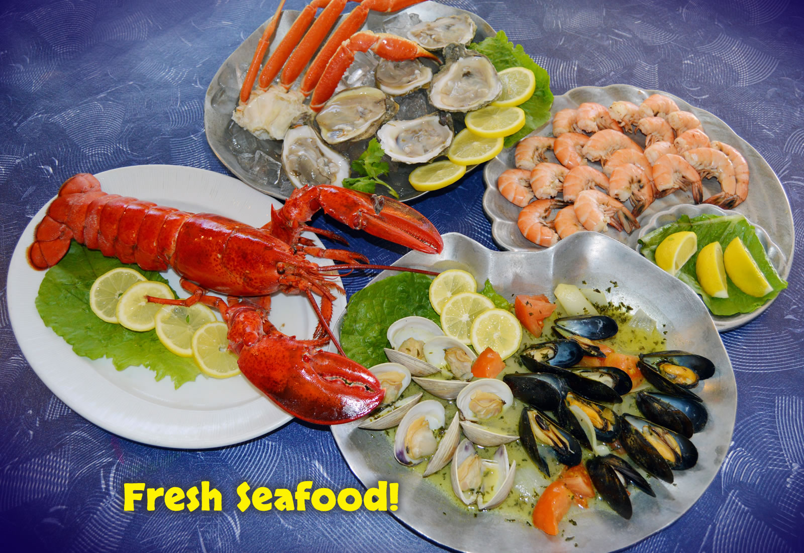 Fresh seafood dining in Melbourne, FL